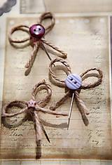 Pierka - Originálne svadobné pierka s gombíkmi - 5418317_