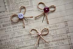 Pierka - Originálne svadobné pierka s gombíkmi - 5418320_