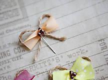 Pierka - Originálne svadobné pierka pre hostí #3 - 5418348_