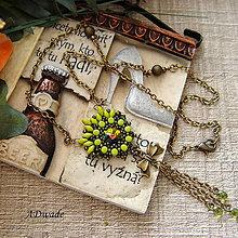 Náhrdelníky - Vintage náhrdelník Dragon - 5423168_