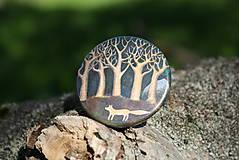 - Magnet Liška pod stromy - 5421282_