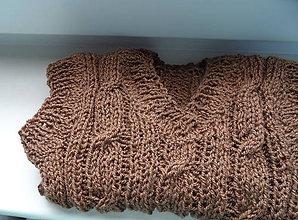 Detské oblečenie - pletená vestička - 5423985_