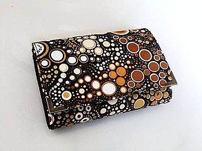 Peňaženky - Bublinkové šuměnky GOLD - peněženka i na karty - 5423133_