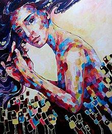 Obrazy - Ráno - obraz na stenu, maľba, originál - 5424981_