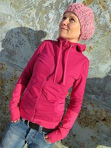 Mikiny - Pink DarkPink M - 5425220_