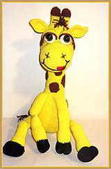 Návody a literatúra - Návod na háčkovanou žirafu Klárku - 5426082_