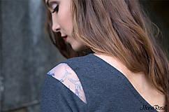 Tričká - SALUTE - top s rukávom - 5426109_