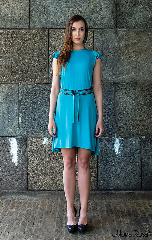 VOYAGE šaty -30%   MonaRosa - SAShE.sk - Handmade Šaty 4b2aab1a211
