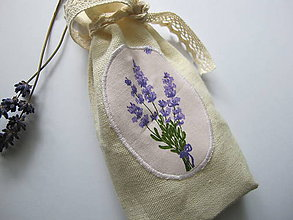 Úžitkový textil - Vrecko na bylinky - 5426419_