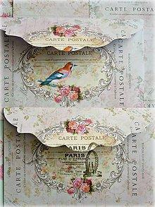 Papiernictvo - Carte postale pink obálka/karta - 5425366_