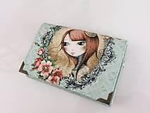 Mirabelle I. - romantická peněženka i na karty