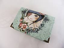 Mirabelle III. - romantická peněženka i na karty