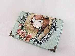 Peňaženky - Mirabelle I. - romantická peněženka i na karty - 5426732_