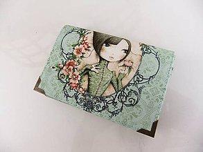 Peňaženky - Mirabelle II. - romantická peněženka i na karty - 5426750_