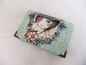 Peňaženky - Mirabelle III. - romantická peněženka i na karty - 5426761_