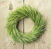 Dekorácie - Veniec z kláskov trávy - 5430987_