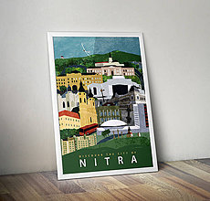 Grafika - Discover the City of Nitra - Art Print, Poster - 5431580_
