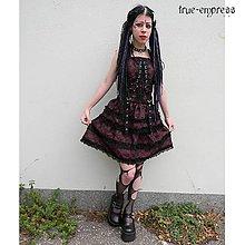Šaty - Gothické školské šaty - 5431495  dcea62e0c1f
