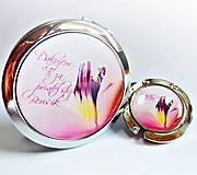 Zrkadielka - sada Růžová kráska - text na přání - 5429907_