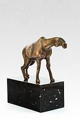 Zviera - bronzová socha - originál