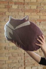 Úžitkový textil - Vankúš líška Foxi - 5435240_