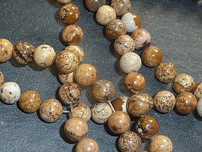 Minerály - Jaspis kalahari 6mm - 5434170_