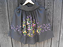 Sukne - sukňa kvetová - 5432383_