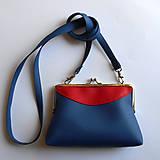 Kabelky - modročervená - 5433612_