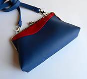 Kabelky - modročervená - 5433615_
