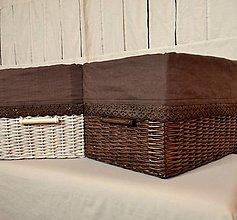 Košíky - Vanilka a čokoláda/ks - 5433911_
