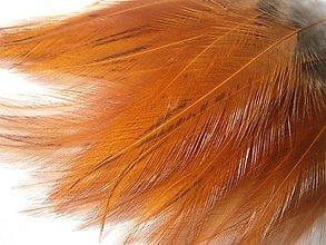 Suroviny - 1-2*29 K1-1c (oranžové,priesvitné ,najdlhšie- 4ks - 5436325_