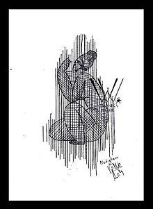 Kresby - Línie- Modigliani (print) - 5438147_