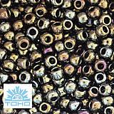 Korálky - TOHO rokajl (Round 2mm) Metallic iris brown - 5435657_