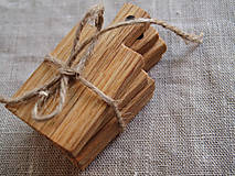 Kľúčenky - mini lopáriky / kľúčenky / menovky, set 4 ks - 5437500_