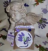 Dekorácie - Levandulové vrecko - 5436156_