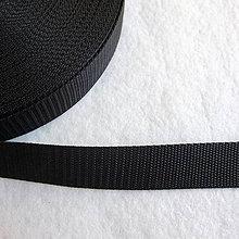 Galantéria - Popruh POP 16 mm čierny - 5438650_