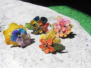 Prstene - lelene, kvetinové prstene - 5440077_
