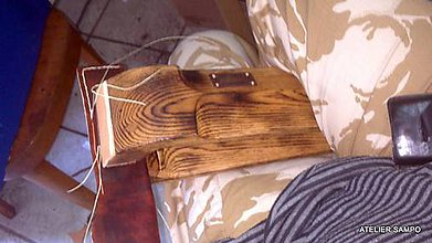 Pomôcky/Nástroje - SAMPO Leather Clamp v akci :) - 5442231_