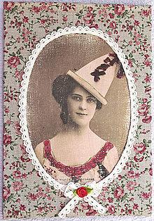 Obrázky - Vintage žena 01 - 5439259_