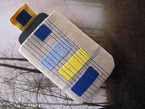 Úžitkový textil - Obal na mobil- obdĺžnikovo - 5442047_