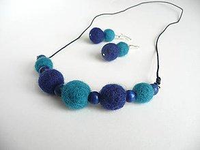 Sady šperkov - Bambuľky - 5440320_