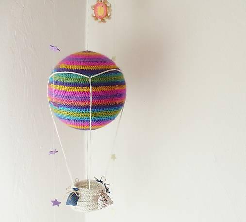 háčkovaný balón