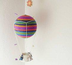 """Hračky - háčkovaný balón """"poletíme"""" - 5439860_"""