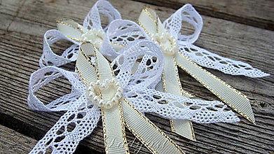 Pierka - Svadobné pierka - Srdcová perlička - 5443852_