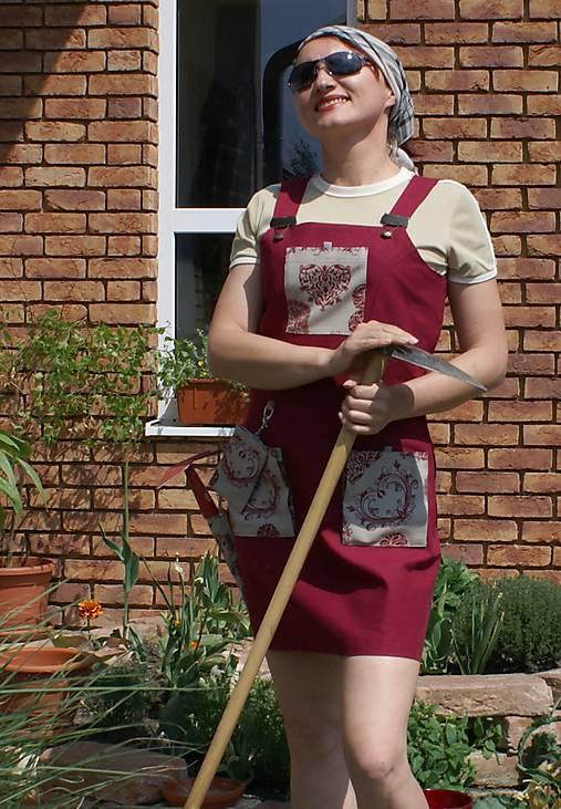 Fanco šaty do záhrady