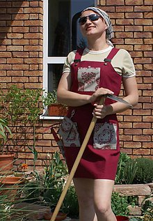 Iné oblečenie - Fanco šaty do záhrady - 5444407_