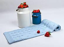 Textil - Detská deka pre chlapčeka, OEKO-TEX®, Bledomodrá - 5444355_