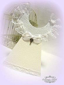 Papiernictvo - Krstná košieľka - 5446087_