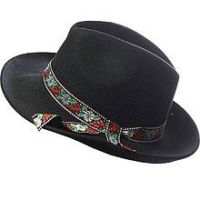 Čiapky - pánsky ľudový klobúk - 5444496_
