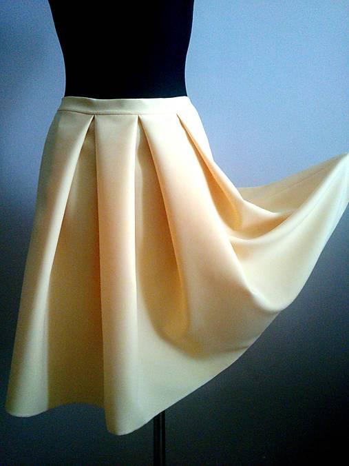44ab2a8bdad0 Skladaná sukňa no. 3   fee - SAShE.sk - Handmade Sukne